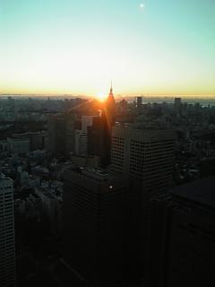 2008年元旦の日の出